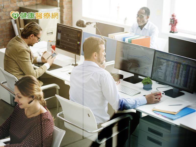 上班族不運動 智慧職場促健康